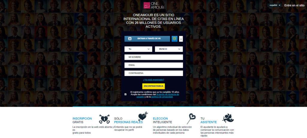 Registro Gratis OneAmour