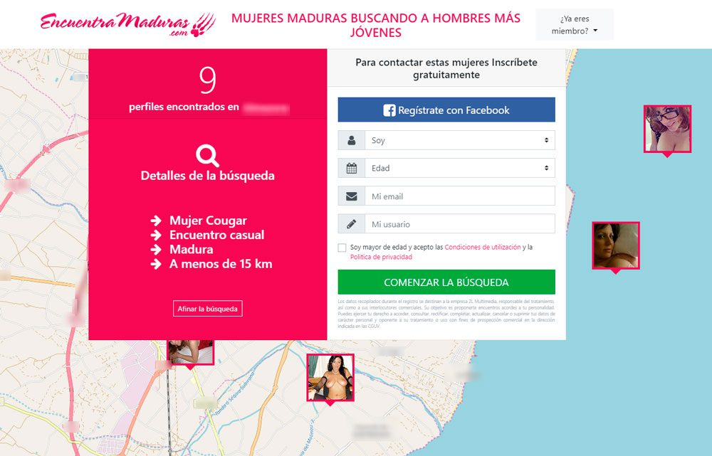 EncuentraMaduras Registro Gratis