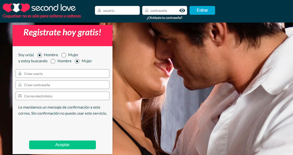 Entrar en SecondLove Gratis