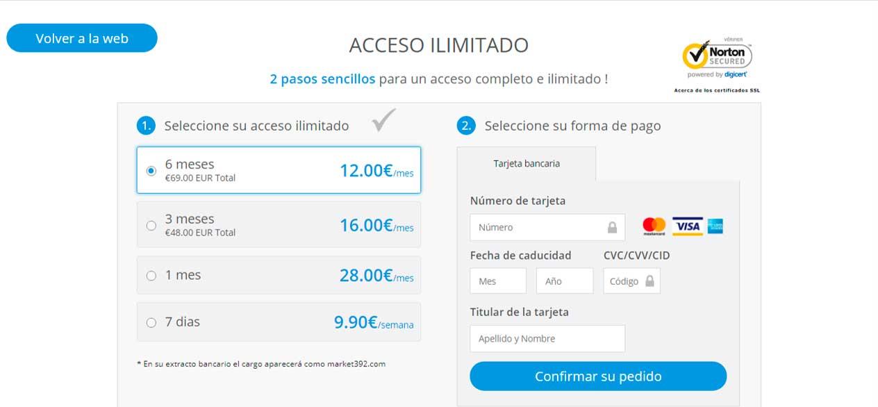 Precio FollaMaduras.com