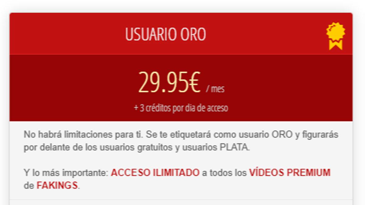 Precio Parejas.net